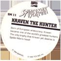 Marvel Comics - Toybiz > Spiderman SM-11-Kraven-The-Hunter-(back).