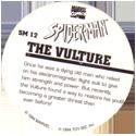 Marvel Comics - Toybiz > Spiderman SM-12-The-Vulture-(back).