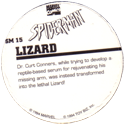 Marvel Comics - Toybiz > Spiderman SM-15-Lizard-(back).