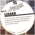Marvel Comics - Toybiz > Spiderman SM-15-Lizard-(back).