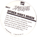 Marvel Comics - Toybiz > Spiderman SM-17-Spider-man's-Origin-(back).