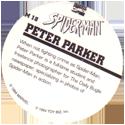 Marvel Comics - Toybiz > Spiderman SM-18-Peter-Parker-(back).