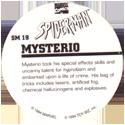 Marvel Comics - Toybiz > Spiderman SM-19-Mysterio-(back).