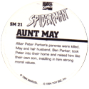 Marvel Comics - Toybiz > Spiderman SM-21-Aunt-May-(back).