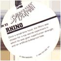 Marvel Comics - Toybiz > Spiderman SM-22-Rhino-(back).