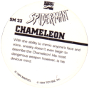 Marvel Comics - Toybiz > Spiderman SM-23-Chameleon-(back).