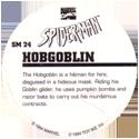 Marvel Comics - Toybiz > Spiderman SM-24-Hobgoblin-(back).