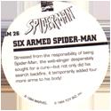 Marvel Comics - Toybiz > Spiderman SM-26-Six-Armed-Spider-man-(back).