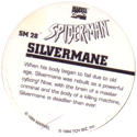 Marvel Comics - Toybiz > Spiderman SM-28-Silvermane-(back).
