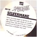 Marvel Comics - Toybiz > Spiderman SM-28-Silvermane-(back).