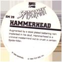 Marvel Comics - Toybiz > Spiderman SM-29-Hammerhead-(back).