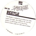 Marvel Comics - Toybiz > Spiderman SM-30-Beetle-(back).