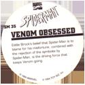 Marvel Comics - Toybiz > Spiderman SM-35-Venom-Obsessed-(back).