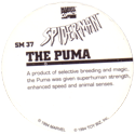 Marvel Comics - Toybiz > Spiderman SM-37-The-Puma-(back).