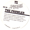 Marvel Comics - Toybiz > Spiderman SM-38-The-Prowler-(back).