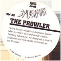Marvel Comics - Toybiz > Spiderman SM-38-The-Prowler-(back).