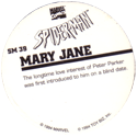 Marvel Comics - Toybiz > Spiderman SM-39-Mary-Jane-(back).
