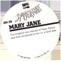 Marvel Comics - Toybiz > Spiderman SM-39-Mary-Jane-(back).