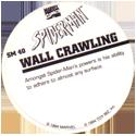 Marvel Comics - Toybiz > Spiderman SM-40-Wall-Crawling-(back).