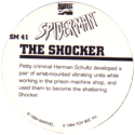Marvel Comics - Toybiz > Spiderman SM-41-The-Shocker-(back).