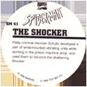 Marvel Comics - Toybiz > Spiderman SM-41-The-Shocker-(back).