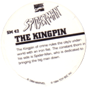 Marvel Comics - Toybiz > Spiderman SM-42-The-Kingpin-(back).