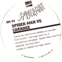 Marvel Comics - Toybiz > Spiderman SM-44-Spider-man-Vs.-Carnage-(back).