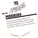 Marvel Comics - Toybiz > Spiderman SM-49-Morbius-(back).