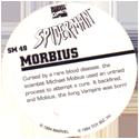Marvel Comics - Toybiz > Spiderman SM-49-Morbius-(back).
