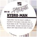 Marvel Comics - Toybiz > Spiderman SM48-Hydro-man-(back).