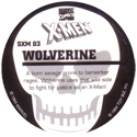 Marvel Comics - Toybiz > X-Men (Skull back) SXM-03-Wolverine-(back).