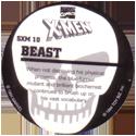 Marvel Comics - Toybiz > X-Men (Skull back) SXM-10-Beast-(back).