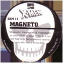 Marvel Comics - Toybiz > X-Men (Skull back) SXM-11-Magneto-(back).