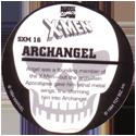 Marvel Comics - Toybiz > X-Men (Skull back) SXM-16-Archangel-(back).