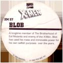 Marvel Comics - Toybiz > X-Men XM-57-Blob-(back).