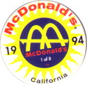 McDonalds > California 94 01.
