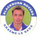 Merlin Magicaps > Premier League 95 028-Blackburn-Rovers---Graeme-Le-Saux.