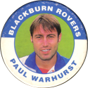 Merlin Magicaps > Premier League 95 031-Blackburn-Rovers-Paul-Warhurst.