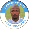 Merlin Magicaps > Premier League 95 055-Coventry-City-John-Williams.