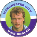 Merlin Magicaps > Premier League 95 143-Manchester-City-Uwe-Rosler.