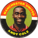 Merlin Magicaps > Premier League 95 156-Manchester-United-Andy-Cole.