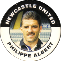 Merlin Magicaps > Premier League 95 162-Newcastle-United-Philippe-Albert.