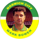 Merlin Magicaps > Premier League 95 171-Norwich-City---Mark-Bowen.