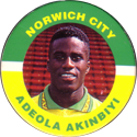 Merlin Magicaps > Premier League 95 180-Norwich-City-Adeola-Akinbiyi.