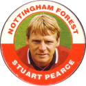 Merlin Magicaps > Premier League 95 184-Nottingham-Forest-Stuart-Pearce.