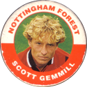 Merlin Magicaps > Premier League 95 187-Nottingham-Forest-Scott-Gemmill.