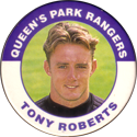 Merlin Magicaps > Premier League 95 194-Queen's-Park-Rangers-Tony-Roberts.
