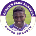 Merlin Magicaps > Premier League 95 197-Queen's-Park-Rangers---Rufus-Brevett.