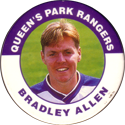 Merlin Magicaps > Premier League 95 202-Queen's-Park-Rangers-Bradley-Allen.