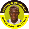 Merlin Magicaps > Premier League 95 211-Sheffield-Wednesday---Chris-Bart-Williams.